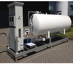 Nigeria Mobile Fuel Amp Lpg Gas Distribution Station